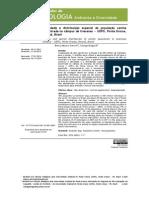 Densidade e distribuição espacial da população canina encontrada no câmpus de Uvaranas — UEPG, Ponta Grossa, Paraná, Brasil