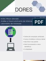 Servidores e Data Centers