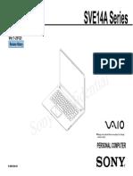 Despiece SVE14A Series