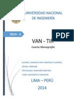 4ta Monografía Matemática Financiera