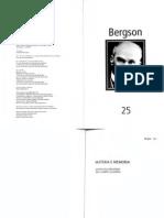 Henri Bergson Materia e Memoria