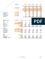 Financial Projections Template v 1.33