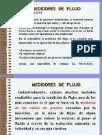 Presentación Unidades I Medidores de Flujo
