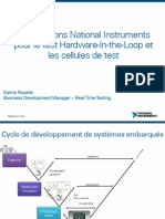 4 Solutions NI Test Hardware in the Loop HIL