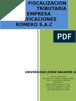 Fiscalizacion Rectificaciones Romero