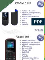 Catalogo TIGO
