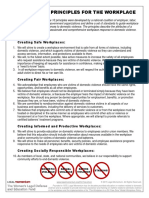 10 Principles for the Workplace