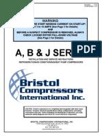 Catalogo de compresores Bristol