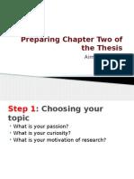 Summary of Half Semester Presentation