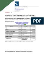 Actividad Ecuación contable