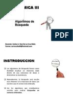 Algoritmos de Busqueda y Clasificacion