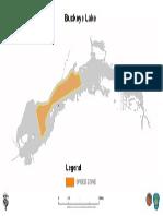 Buckeye Lake Speed Zone Map