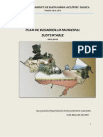 Plan Municipal de Desarrollo Sustentable Jacatepec