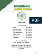 PSIK 4B Kelompok 8 (Spondilitis Ankilosis)