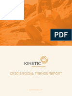 Kinetic Social Q1 2015 SOCIAL TRENDS REPORT