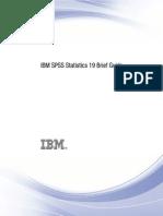 IBM SPSS Statistics Brief Guide