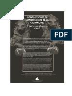 Informe Estado Social 2015. España