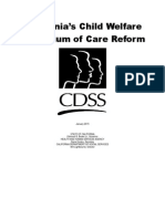 California's Child Welfare Continuum of Care Reform Report