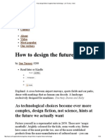 How Design Fiction Imagines Future Technology – Jon Turney – Aeon