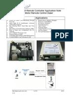 Quark-Elec GSM Remote Contorller DC Motor Remote Control Application Notes-G025