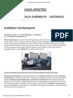Arsitektur Kontemporer _ DIMAS ERLANGGA ARSITEK