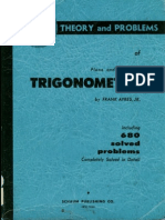 Ayres, Frank (1954). Plane and Spherical Trigonometry