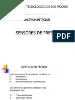 Sensores de Presion Temperatura y Caudal