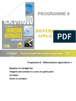 Prog 8 Differentiation Applications 1