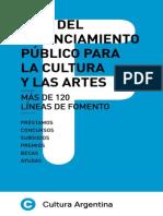 Guía Del Financiamiento Público Para La Cultura y Las Artes