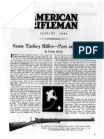 The American Rifleman,January 1935,Elmer Keith, Some Turkey Rifles Past and Present