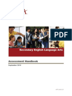 EdTPA Secondary English Language Arts