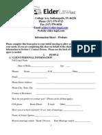 information sheet - probate