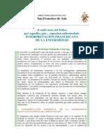 Interpretación Franciscana de La Enfermedad - Octaviano Schmucki, OfM Cap