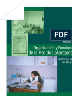 organizacion y funcion de la red de laboratorio