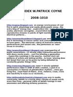 BLOG LIBRARY 2008-2010 ESSAYS, POETRY, BOOKS,PHOTOS