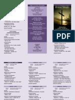 Cultos de Semana Santa 2015