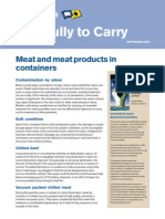 Meat and Meat Products in Containers
