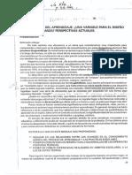 didactica capitulo 2. las teorias del aprendizaje ¿una variable para el diseño de la enseñanza perspectivas actuales..pdf