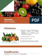 Vitaminas C y D