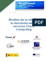 Análisis de la oferta y la demanda de los servicios de Cloud Computing