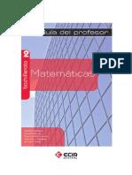 Guía Didáctica Matemáticas ECIR