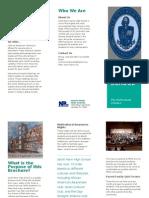 brochure for multicultural awareness