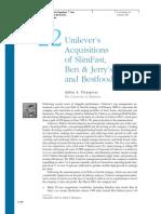 Unilever's Acquisitions.pdf