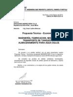 PROPUESTA MAINSERV-0051-14 - FABRICACION TANQUES DE ALMACENAMIENTO.pdf