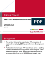 McLintock - Evaluation and management of postpartum hemorrhage (Clinical Review).pptx