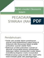 Gadai Syariah (Rahn)