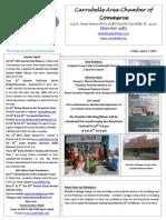 Carrabelle Chamber of Commerce newsletter for April 17th
