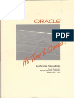 Oracle in a Distributed Environment