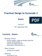 Beam Practical Design to Eurocode 2_Sep 2013