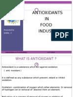54913450 Antioxidants Presentation